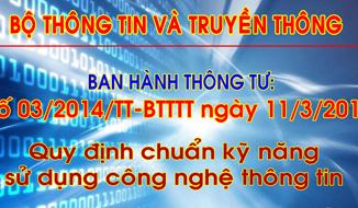 chứng chỉ chuẩn kỹ năng CNTT - Trung tâm tin học Tri Thức Việt