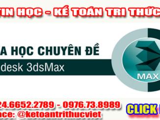 Khóa học 3ds max tại Hà Nội - Trung tâm tin học Tri Thức Việt